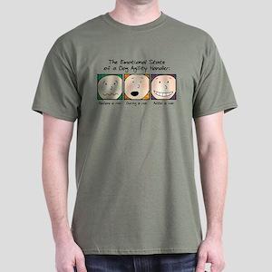 Agility Handler Emotions Dark T-Shirt
