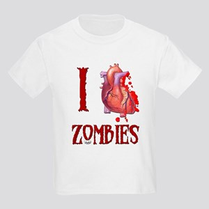 I *heart* Zombies Kids Light T-Shirt