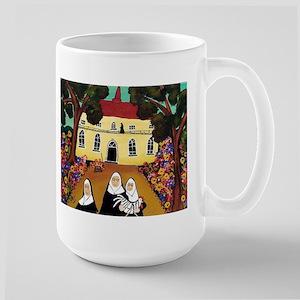 Funny Nun Large Mug