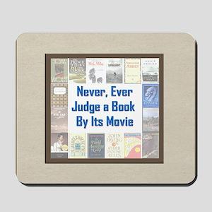 Book vs. Movie Mousepad