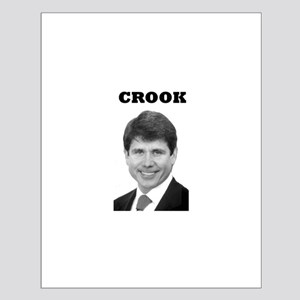 Crook Small Poster
