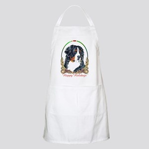 Bernese Mountain Dog Holidays BBQ/Grooming Apron