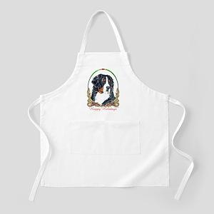 Bernese Mountain Dog Holidays BBQ/Grooming Apron