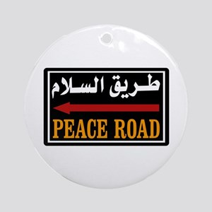 Peace Rd, Egypt Ornament (Round)