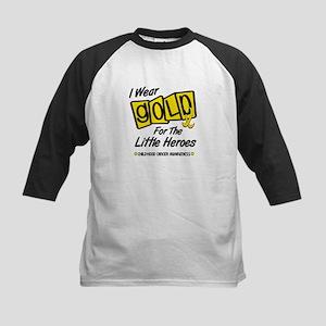 I Wear Gold For The Little Heroes 8 Kids Baseball