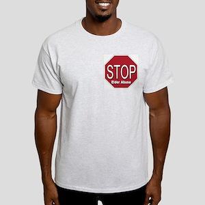 Stop Elder Abuse Light T-Shirt