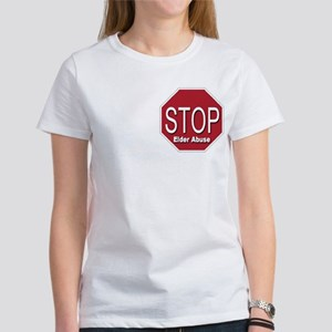 Stop Elder Abuse Women's T-Shirt