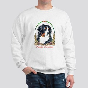 Bernese Mountain Dog Holiday Sweatshirt
