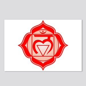 The Root Chakra Postcards (Package of 8)