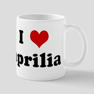 I Love aprilia Mug