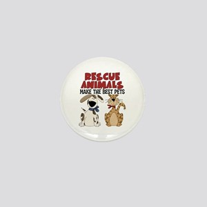 Rescue Animals Mini Button