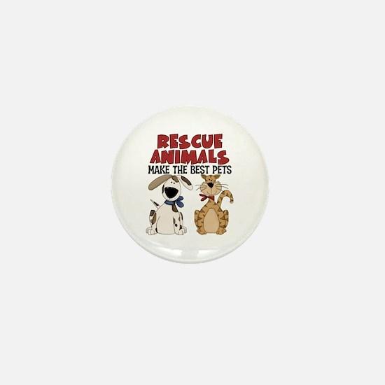 Rescue Animals Mini Button (10 pack)