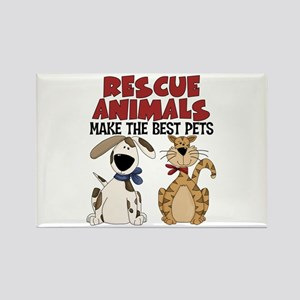 Rescue Animals Rectangle Magnet