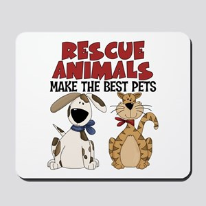 Rescue Animals Mousepad