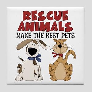 Rescue Animals Tile Coaster