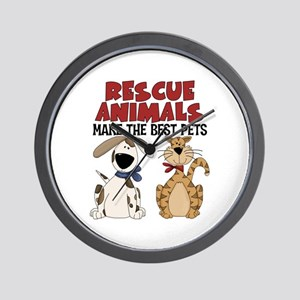 Rescue Animals Wall Clock