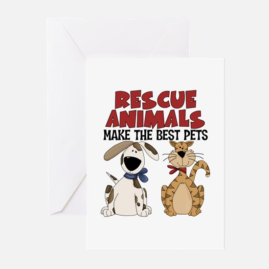 Rescue Animals Greeting Cards (Pk of 20)