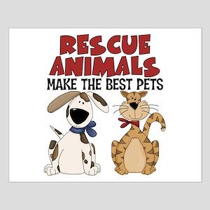 Rescue Animals Small Poster