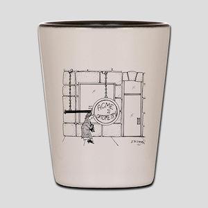 Optometry Cartoon 3070 Shot Glass