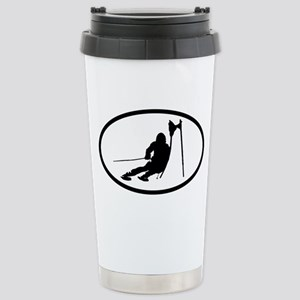SKI Stainless Steel Travel Mug