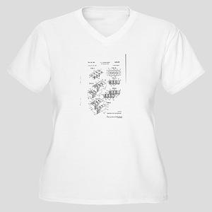 Lego Patent Plus Size T-Shirt