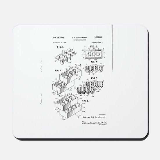 Lego Patent Mousepad
