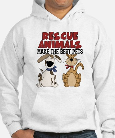 Rescue Animals Hoodie Sweatshirt
