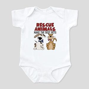 Rescue Animals Infant Bodysuit