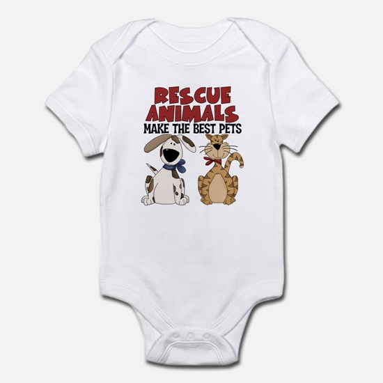Rescue Animals Infant Bodysuit