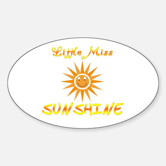 Miss Sunshine Oval Decal