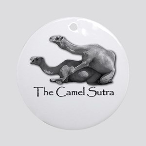 Camel Sutra Ornament (Round)