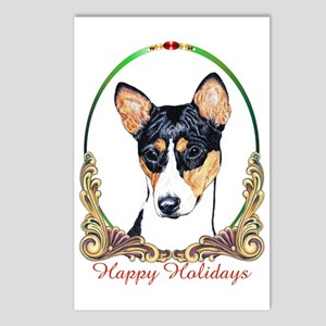 Basenji Dog Holiday Postcards (Package of 8)