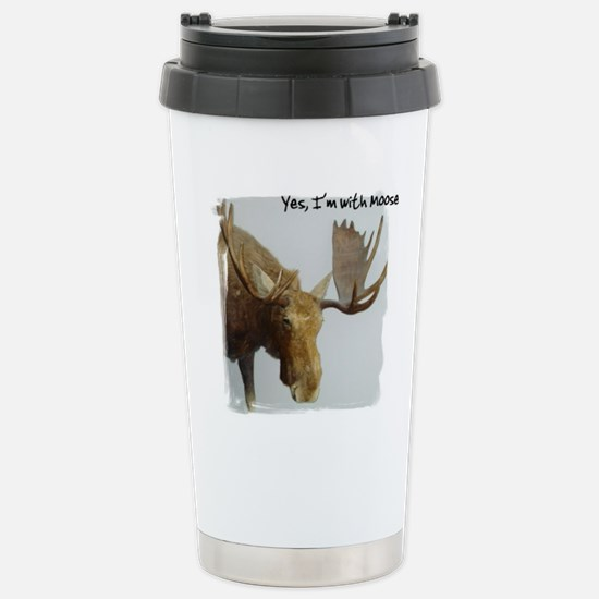 Yes, I'm with Moose Stainless Steel Travel Mug