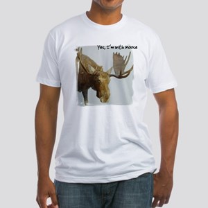 Yes, I'm with Moose Fitted T-Shirt