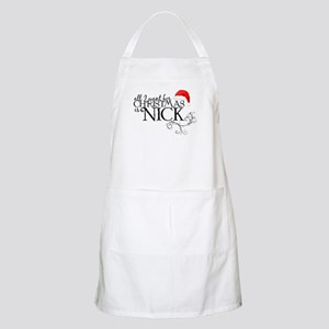 All I want for Christmas is Nick BBQ Apron