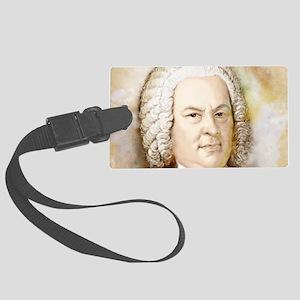 Johann Sebastian Bach Large Luggage Tag