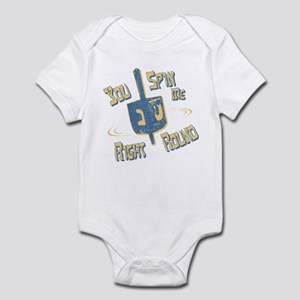 You Spin Me Right Round Infant Bodysuit