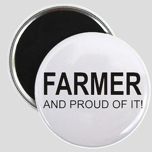 The Proud Farmer Magnet