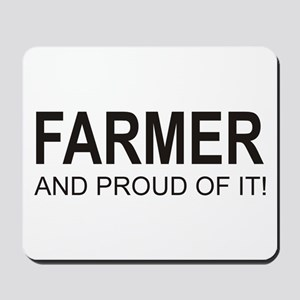 The Proud Farmer Mousepad