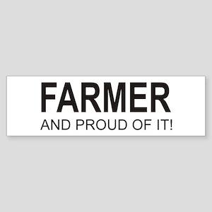 The Proud Farmer Bumper Sticker