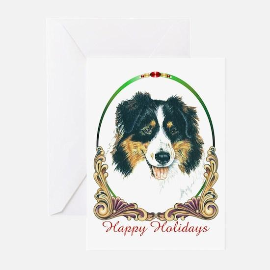 Australian Shepherd Holiday Greeting Cards (Packag