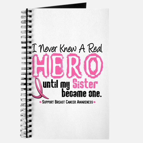 Never Knew A Hero 4 PINK (Sister) Journal