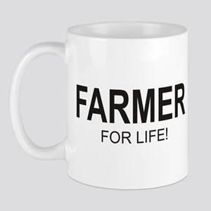 Farmer For Life Mug (right side)