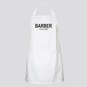Barber For Life BBQ Apron