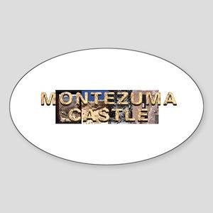 Abh Montezuma Castle Sticker (oval)