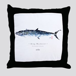 King Mackerel - Throw Pillow