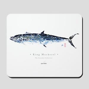 King Mackerel - Mousepad