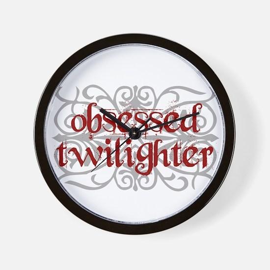 Twilight ~ Obsessed Twilighter Wall Clock