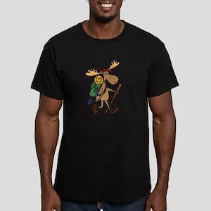 Moose Hiking T-Shirt