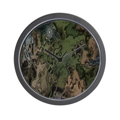 Custom Camoflauge Wall Clock